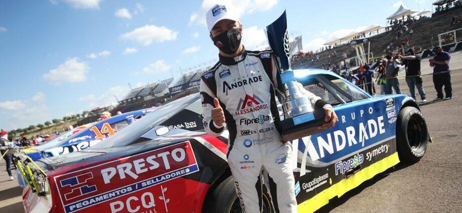Con paso firme, Noel León marca la pauta en NASCAR Challenge / Foto: EPI Press