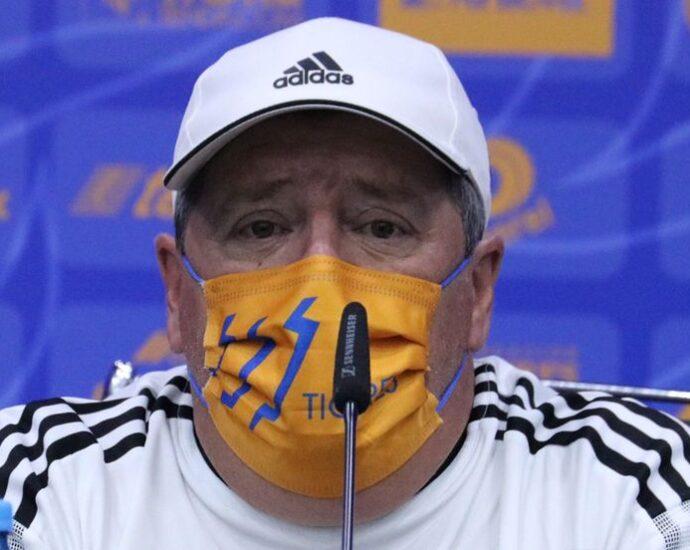 Miguel Herrera, Dt de Tigres. Foto: Club Tigres