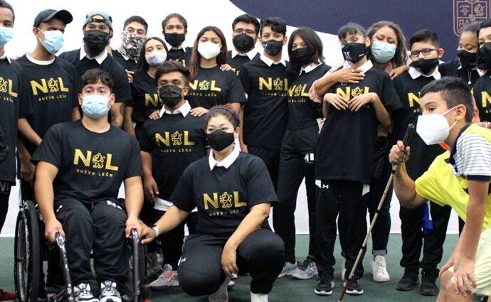 Se reporta listo primer grupo de la delegación NL rumbo a Paranacionales / Foto: INDE